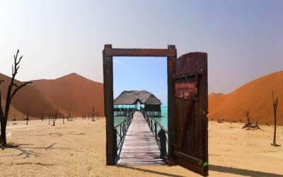 La vie est une succession de portes qui s'ouvrent et se ferment…